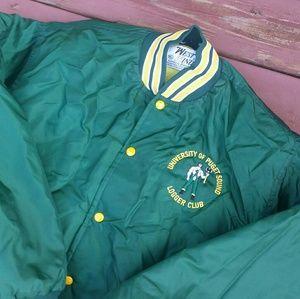 Vintage University Of puget sound jacket